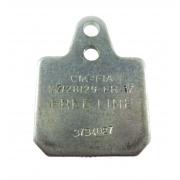 Brake pad Birel 40x38 Gray Hard, MONDOKART