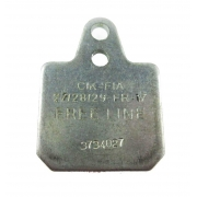 Brake pad Birel 40x38 Gray Hard, mondokart, kart, kart store