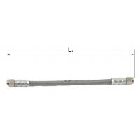 Universal Bremsschlauch (8 mm) Edelstahl + PVC