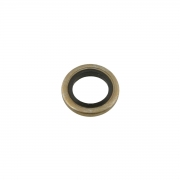 Gasket aluminum / rubber M5 5mm (brake bleed), MONDOKART