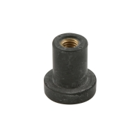 Druckdeckel D 12,5 mm M6 Gummi