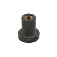 Tappo a pressione D 12,5mm M6 in gomma