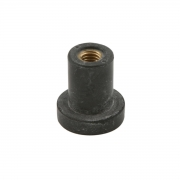 Pressure cap D 12.5mm M6 rubber, MONDOKART, Other Fairings