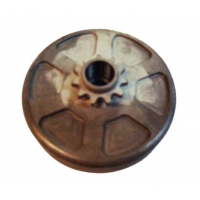 Kupplungsglocke mit Kettenrad Z11 TM 60cc mini