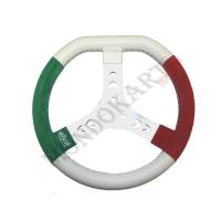 Volante Tricolore Mondokart Ultragrip
