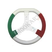 Volante Tricolore Mondokart Ultragrip, MONDOKART, kart, go