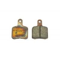 Kit 2 Brake pads BS5 - BS6 - SA2 Sintered Gold OTK TonyKart