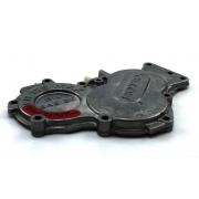 Coperchio carter ingranaggi nero Rotax, MONDOKART, kart, go