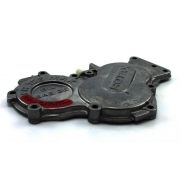 Crankcase cover black gears Rotax, MONDOKART