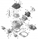 Cilindro Completo Rotax Max 3D, MONDOKART, kart, go kart