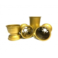 Set 4 Jantes magnésium « Gold » MONDOKART