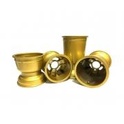 Set 4 Jantes magnésium « Gold » MONDOKART, MONDOKART, kart, go