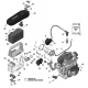 Rotax Max Battery support evo - Micro - Mini - Junior - DD2