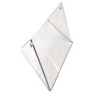 Plexiglás Radiador Rotax Micro