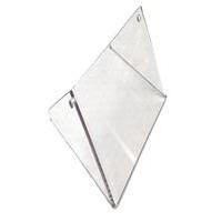 Schermo plexiglass Radiatore Rotax Micro