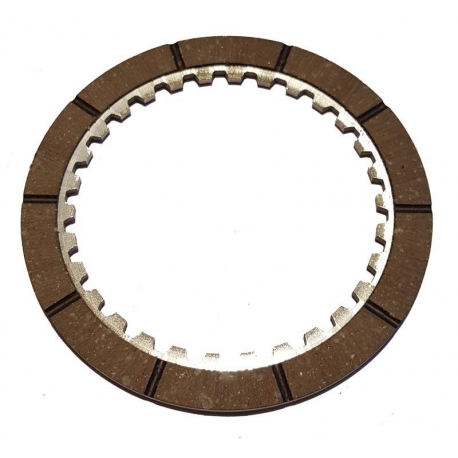 Disc internal garnished clutch (aluminum garnished only from