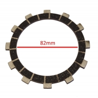 Disque Embrayage (2 garnis côtés) valve Pavesi