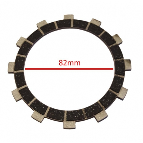 Disco frizione guarnito (guarnito 2 lati) Pavesi Valvola