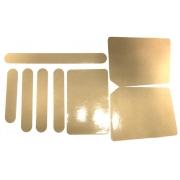 Kit adesivi protezione telaio, MONDOKART, Adesivi
