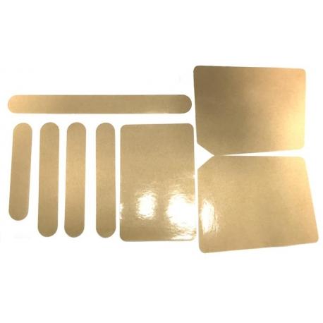 Kit adesivi protezione telaio, MONDOKART, kart, go kart