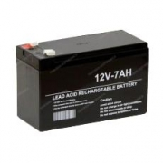 Lead Battery 12 volt 7 AH, MONDOKART, Batteries