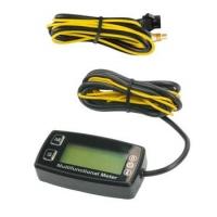 Termometro Temperatura Agua - Tacómetro RPM - Cuenta Horas - con soporte volante!