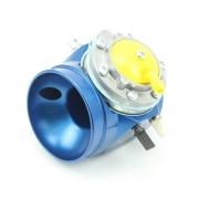 Carburatore Ibea 24 blu Vortex DVS, MONDOKART, Marmitta e