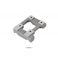 Bancada Motor aluminio perforada 28x92 Mini Vortex OTK TonyKart
