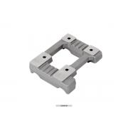 Bancada Motor aluminio perforada 28x92 Mini Vortex OTK