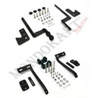 Kit de support de montage de capteur de température de pneu pneumatique AIM
