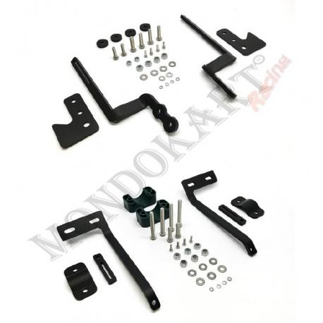 Kit de support de montage de capteur de température de pneu