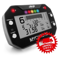 AIM MyChron 5 Basic - GPS Lap Timer Gauge - With WATER Probe