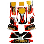 Bodyworks Stickers CRG GOLD 2018 NA3, MONDOKART, Fairings