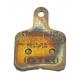 Brake pad BS5 - BS6 - SA2 Sintered Gold OTK TonyKart