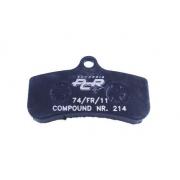 Front disc brake pad PCR KF, MONDOKART, Brake pads