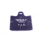 Disc brake pad rear PCR KF / KZ, MONDOKART, Brake pads