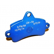 Disc brake pad Top Kart Mini - Baby Blue, mondokart, kart, kart