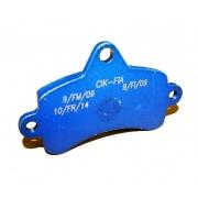 Disc brake pad Top Kart Mini - Baby Blue, MONDOKART, Braking