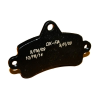 Brake pad Top Kart Mini - Baby BLACK