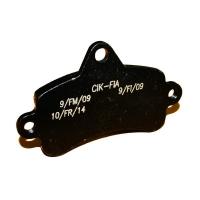 Brake pad Top Kart Mini - Baby BLACK