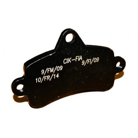 Brake pad Top Kart Mini - Baby BLACK, mondokart, kart, kart
