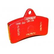 Brake pad Top Kart KZ-KF back, MONDOKART, Braking system KZ -