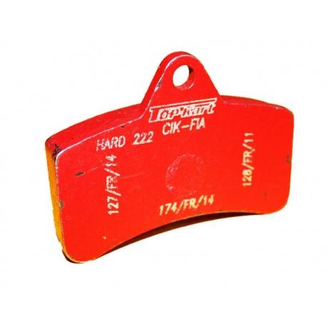 Pastilla Freno Top Kart KZ-KF ROJO, MONDOKART, kart, go kart