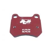 PCR rear disc brake pad KZ (from 2015), MONDOKART, Brake pads