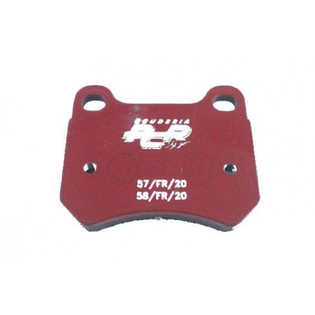PCR rear disc brake pad KZ (from 2015), mondokart, kart, kart