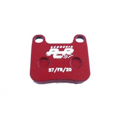 PCR front disc brake pad KZ (from 2015), mondokart, kart, kart