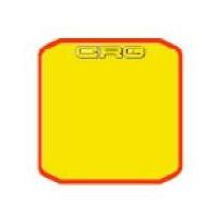 Plate Adhesive Sticker pare-chocs arrière CRG