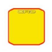 Plate Adhesive Sticker pare-chocs arrière CRG, MONDOKART, kart