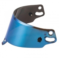 Blau IRIDIUM Visier Helme Sparco AIR / SKY KF 5W / 7W