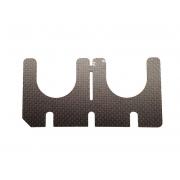Balestrino Carbonio 3 punte Universale KZ, MONDOKART, kart, go